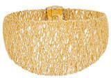 Milani Alberto Mesh Bangle Bracelet in 18K Gold