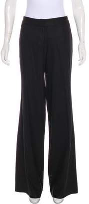 Yigal Azrouel Wool Mid-Rise Pants