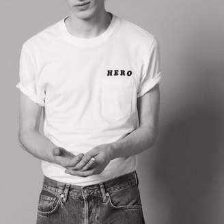 Sandro Hero Flocked T-Shirt
