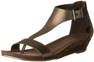 Kenneth Cole REACTION Women's Great Gal T-Strap Low Wedge Sandal $51.51 thestylecure.com