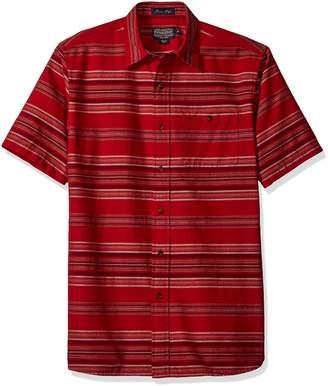 Pendleton Men's Short Sleeve Fitted Kay Street Shirt