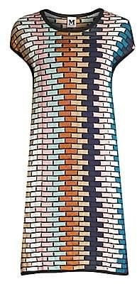 M Missoni Women's Multicolor Grid Shift Dress