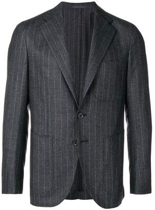 Caruso pinstriped blazer