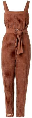 Andrea Marques belted waist dress