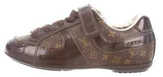 Louis Vuitton Boys' Leather Monogram Sneakers brown Boys' Leather Monogram Sneakers