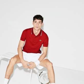 Lacoste Men's SPORT Colorblock Bands Technical Pique Tennis Polo