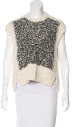 Isabel Marant Alpaca & Wool-Blend Sleeveless Sweater