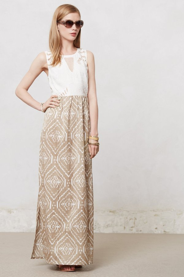 Anthropologie Galatea Maxi Dress