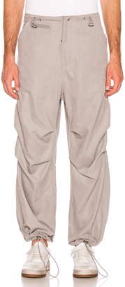 032c Adjustable Strap Pants in Grey | FWRD