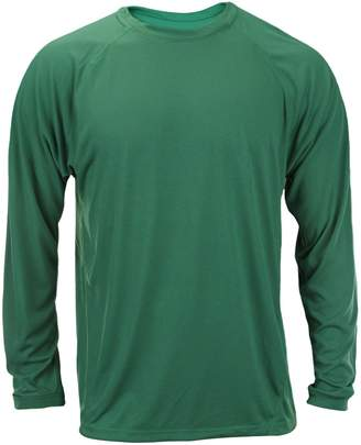 adidas Men's Long Sleeve Climalite Shirt (2XL, )