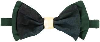 Cor Sine Labe Doli metal ring bow tie