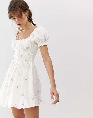 Cleobella Belinda embroidered mini dress
