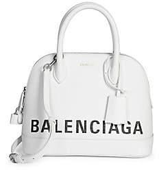 Balenciaga Women's Ville Top Handle Leather Bag