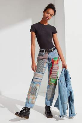 Urban Renewal Vintage Remade Quilted Patched Levi's Jean