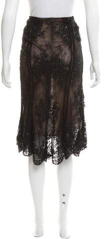 Marchesa 2016 Embellished Skirt w/ Tags