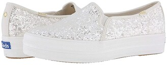 Kate Spade Keds x Bridal Triple Decker Glitter
