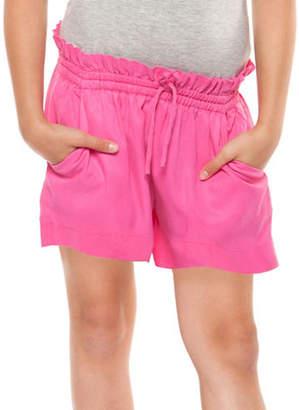 Dex Wide-Leg Paperbag Waist Shorts