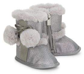 Michael Kors Baby Girl's Faux Fur Accented Boots