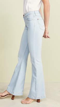 Wrangler Seamed Flare Jeans