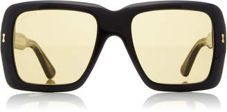 Gucci Oversized Square Acetate Sunglasses