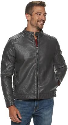 Urban Republic Men's Snap-Collar Jacket