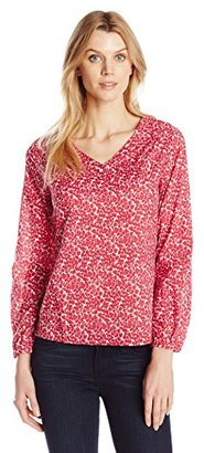 Dockers Women's Voile Long Sleeve Tunic $22.98 thestylecure.com