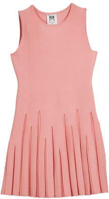 Milly Pointelle Godet Flare Dress, Size 74-6