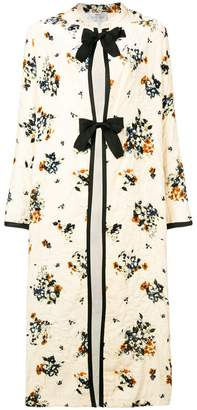 Forte Forte floral embroidered coat