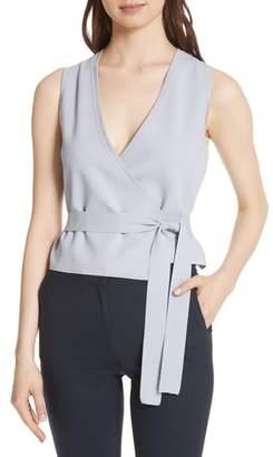 Diane von Furstenberg Wrap Vest