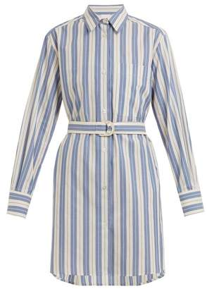 Max Mara Beachwear - Gioiosa Shirtdress - Womens - Blue Stripe