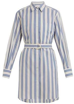 Max Mara beachwear Beachwear - Gioiosa Shirtdress - Womens - Blue Stripe