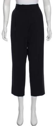 Steven Alan Wool Cropped Pleated Trouser w/ Tags