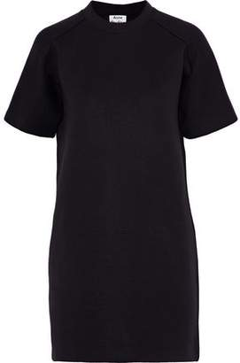 Acne Studios Cotton-Blend Jersey Mini Dress