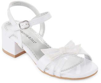 3174d9277b12 Christie   Jill Chasma Girls Heeled Sandals - Little Kids Big Kids