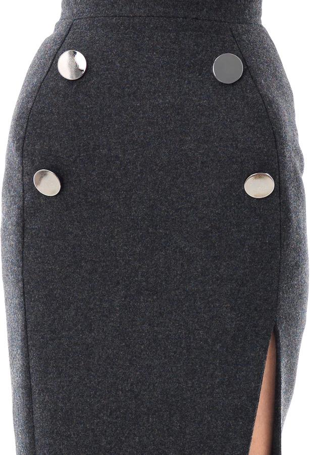 Altuzarra Margaret wool skirt