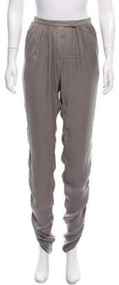 Lanvin Mid-Rise Pants