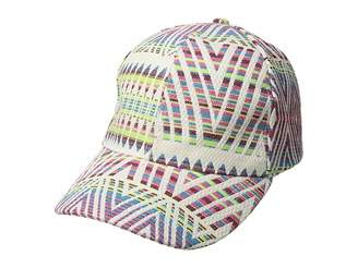 Collection XIIX Rainbow Woven Baseball Hat
