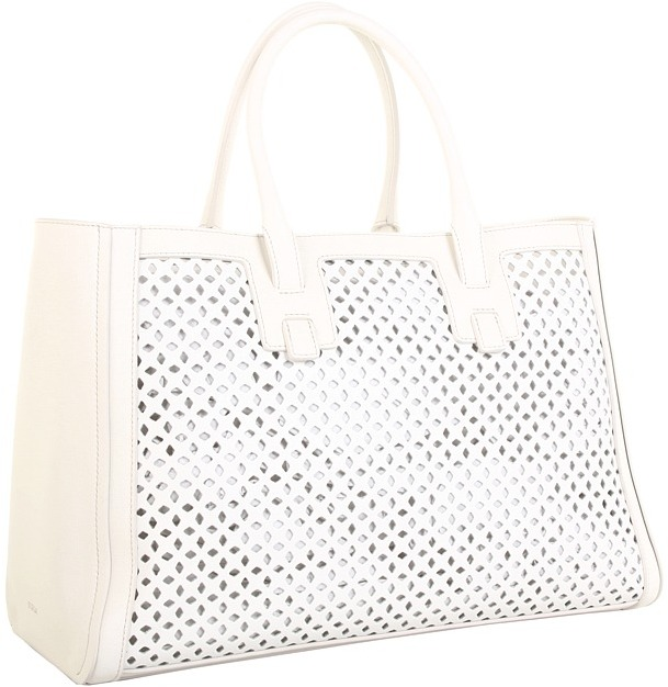 Furla Handbags - Diamante L Shopper (Luce) - Bags and Luggage