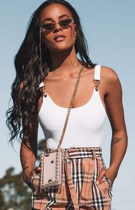 Bb Exclusive Nada Clasp Bodysuit White