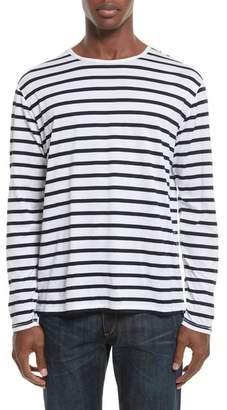 Rag & Bone Henry Stripe Long Sleeve T-Shirt