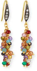 Margo Morrison Multi-Stone Cluster Dangle Earrings