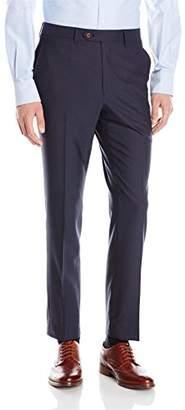 David Hart Men's Solid Trouser