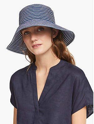 3f30b5c872f John Lewis   Partners Packable Stripe Medium Bucket Hat