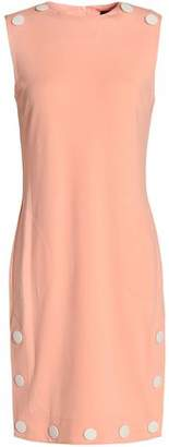 Love Moschino Button-Detailed Stretch-Jersey Dress