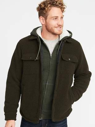 Old Navy Sherpa Shirt Jacket for Men