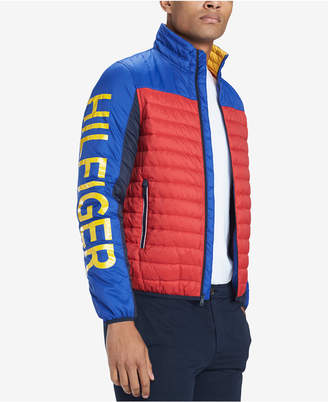 Tommy Hilfiger Men Big & Tall Wilshire Colorblocked Insulator Jacket