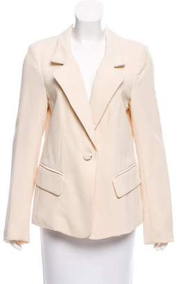 L'Agence Unstructured Notch-Lapel Blazer w/ Tags