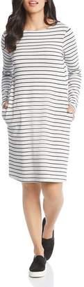 Karen Kane Striped French Terry Dress