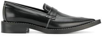 MM6 MAISON MARGIELA pointed toe loafers