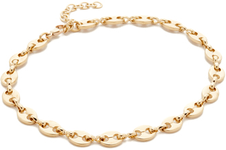 Jacquie Aiche JA Oval Link Anklet $86 thestylecure.com